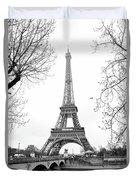 La Tour Eiffel, Paris Duvet Cover