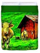 La Vaca Duvet Cover