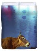 La Vache Numerique Duvet Cover