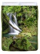 La Vaioaga Waterfall Duvet Cover