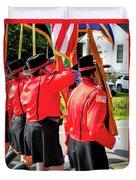 Ladies Auxiliary Palenville Fire Department 8 Duvet Cover