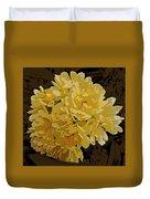 Lady Banks Rose Cluster Duvet Cover