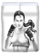 Lady Boxer Duvet Cover