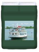 Lady Chadwick Boat - Cabbage Key Island, Florida Duvet Cover