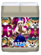 Lady Gaga Graphic Art Duvet Cover