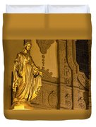 Lady In Gold Duvet Cover