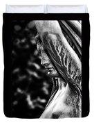 Lady In The Garden 1 Duvet Cover