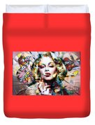 Lady Maddy Duvet Cover