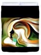Lady Of Color Duvet Cover