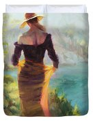 Lady Of The Lake Duvet Cover