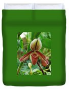 Lady Slipper Duvet Cover