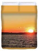 Lady Sunset Duvet Cover