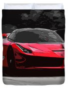 La Ferrari Duvet Cover