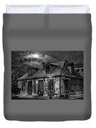 Lafittes Blacksmith Shop Bw Duvet Cover