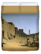 Laghouat In The Algerian Sahara Duvet Cover