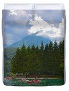 Lago Di Barcis Duvet Cover