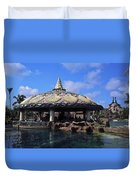Lagoon Bar And Grill Duvet Cover
