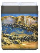 Laguna Beach Tide Pool Pattern 3 Duvet Cover