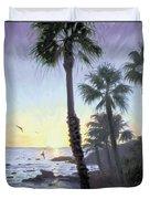 Laguna Sunset Duvet Cover