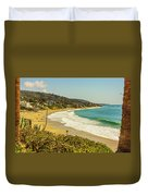 Laguna View Duvet Cover