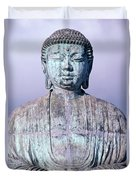 Lahaina Buddha At Jodo  Duvet Cover