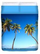 Lahaina Palms Duvet Cover