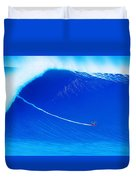 Jaws Cliff Angle 1-10-2004 Duvet Cover