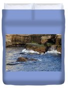 Lajolla Rocks Duvet Cover