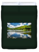 Lake Agua Blanca Duvet Cover