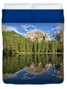 Lake Antorno Duvet Cover