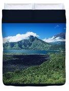 Lake Batur Duvet Cover