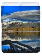 Lake Beauvert Roots Duvet Cover