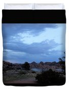 Lake Before A Storm Duvet Cover
