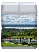 Lake Bellaire, Bellaire Michigan Duvet Cover