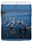 Lake Birds Duvet Cover