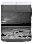 Lake Bw Duvet Cover