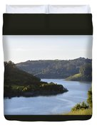 Lake Chabot On A Sunny Day Duvet Cover