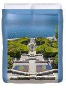 Lake Como,villa Carlotta, Italy Duvet Cover