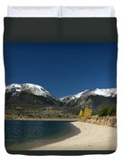 Lake Dillon Colorado Duvet Cover