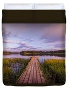 Lake Dock Duvet Cover