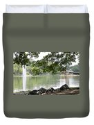 Lake Ella, Tallahassee Duvet Cover