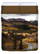Lake Fork Of The Gunnison Duvet Cover