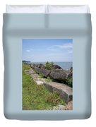 Lake Front Park Duvet Cover