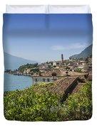 Lake Garda Limone Sul Garda Duvet Cover