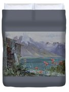 Lake Geneva Duvet Cover