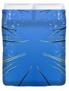 Lake Grass Reflection Duvet Cover