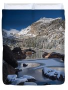 Lake Haiyaha  Duvet Cover