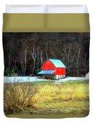 Lake Hallie Barn Duvet Cover