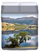 Lake Hayes New Zealand Duvet Cover