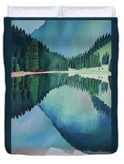 Lake In Austria Duvet Cover